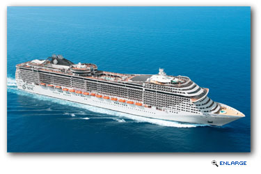 MSC Cruises announces deployment of MSC Splendida to China