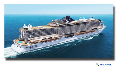 MSC Cruises Reveals First Details Of New Seaside Class Ship