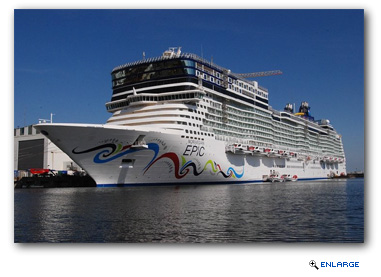 Norwegian Epic Receives Shipwide Enhancements