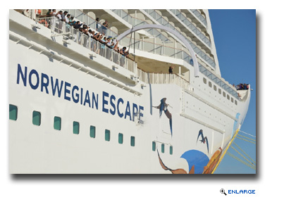 Norwegian Escape Christened in Miami