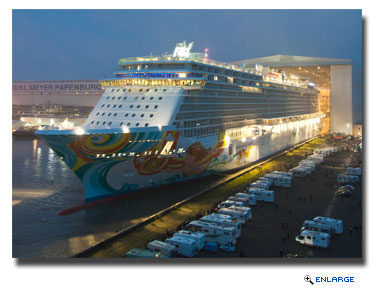 Norwegian Getaway Floated Outs