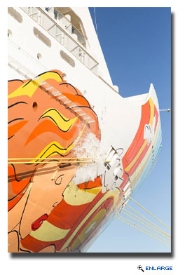 Norwegian Getaway Christened