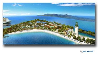 Norwegian Cruise Line Reveals Harvest Caye Experiences