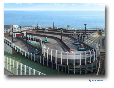 Norwegian Joy To Feature First Ever Race Kart Track at Sea