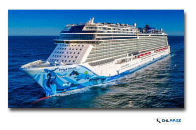 The brand-new Norwegian Bliss, arriving in June 2018, will lead Norwegian�s 2018 Alaska fleet