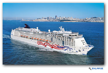 Pride of America Receives Bow to Stern Enhancements