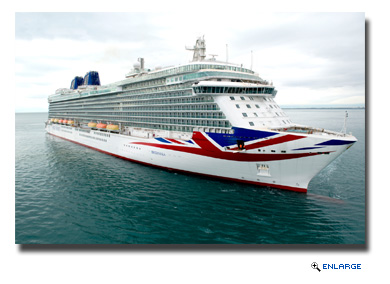 P&O Cruises has announced that its new 141,000 tons cruise ship, scheduled to enter service in spring 2015, will be named Britannia.