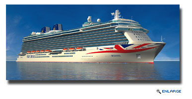P&O Cruises Announces Changes To The Livery Of Its Ships