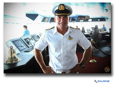 Captain Dino Sagani has been named master of its next new ship, Majestic Princess