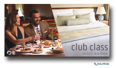 Princess Cruises Unveils New Club Class Mini-Suite Stateroom Category