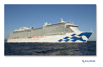 Princess Debuts New Livery Design on Majestic Princess