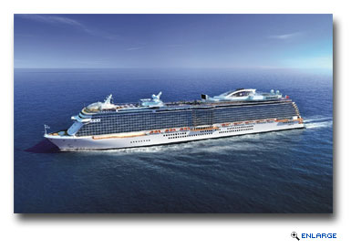 Princess Cruises' Next New Ship to be Based in China Year Round