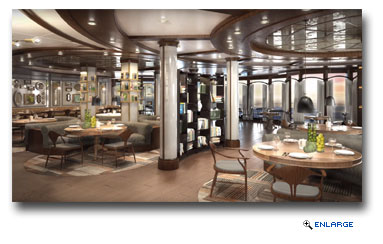 Princess Cruises Introduces Specialty Restaurant SHARE