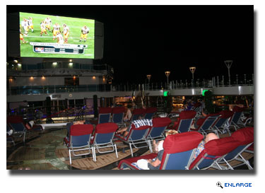 Princess Cruises Launches Monday Night Football at Sea