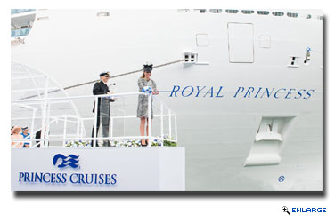 Princess Cruises Celebrates First Birthday of Royal Princess