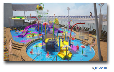 Harmony Of The Seas To Debut New Aquatic Park For Kids