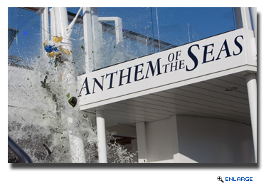 Anthem of the Seas Christened