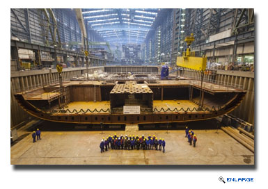 RCI Celebrates Anthem of the Seas Keel-Laying