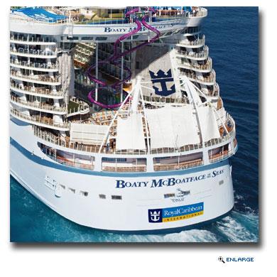 Royal Caribbean Asks Genius Behind Boaty McBoatface To Help Name Future Ship