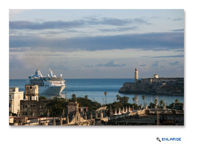 Empress of the Seas will make history for the cruise line with its first visit to Cuba during a 5-night sailing departing Miami on April 19, 2017