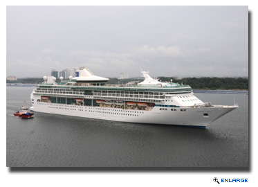 Legend of the Seas Returns to Singapore