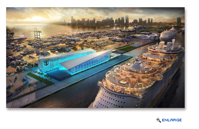 Royal Caribbean Cruises Ltd. (RCL), in agreement with Miami-Dade County, will build and operate a new, world-class terminal at PortMiami. The building is scheduled for late 2018.