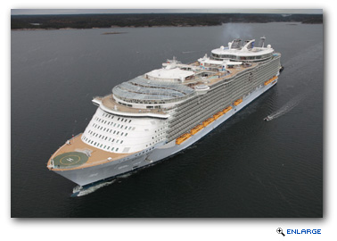 Royal Caribbean Signs Deal for Fifth Oasis-class and Two  Edge-class ships