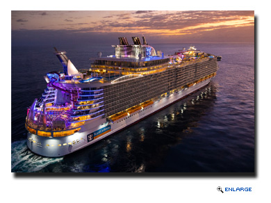 Oasis of the Seas, will continue a seventh year of offering round-trip, seven-night Eastern and Western Caribbean vacations from Fort Lauderdale, Fla