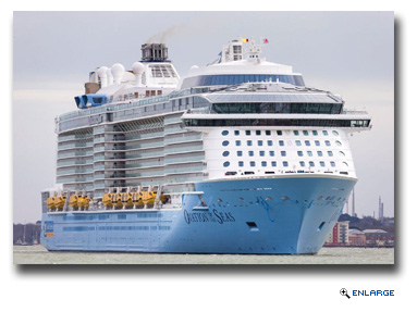 Ovation of the Seas Becomes the largest cruise ship ever to homeport in Hong Kong