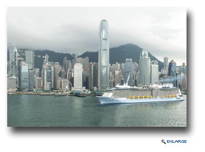 Ovation of the Seas Visits Hong Kong