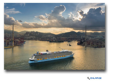 Quantum of the Seas Makes Historic Entry into Hong Kong