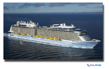 Royal Caribbean Takes Delivery of Quantum of the Seas