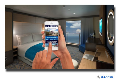 Guests will be able to track luggage in real time on their smartphones.