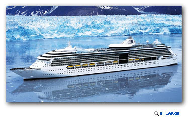 Royal Caribbean will deploy two Radiance-class ships, Radiance of the Seas and Jewel of the Seas, to the Last Frontier