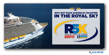Royal Caribbean International today announced the first-ever Royal 5K