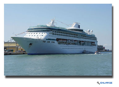 Sailing roundtrip from Sao Paulo (Santos), Brazil, Splendour of the Seas will sail three- to eight-night Brazil cruises