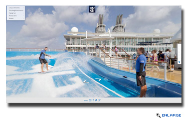 Royal Caribbean Will Use Google�s Street View On Allure of the Seas