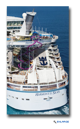 Royal Caribbean Reveals The Ultimate Abyss, Tallest Slide at Sea