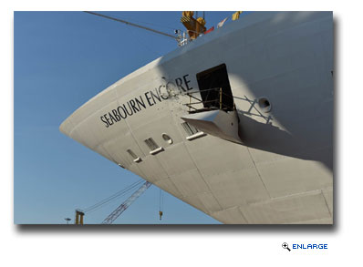 Seabourn Celebrates Float Out Of New Seabourn Encore