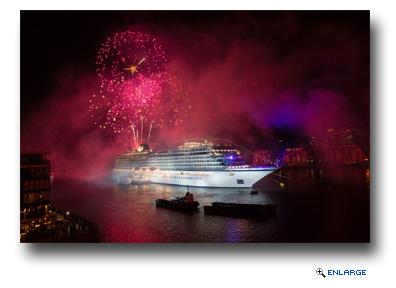 Viking Ocean Cruises Christens Viking Sea Ship In London