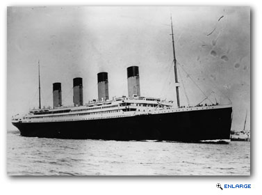 This Sunday is the 100th anniversary of the sinking of the ocean liner Titanic.