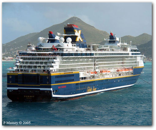 Celebrity summit ship rating