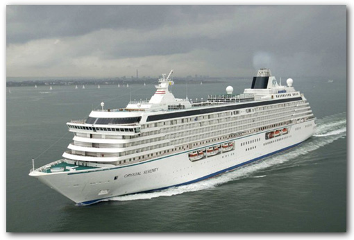 Your Favorite Cruise Crystal Cruises Crystal Symphony - Symphony cruise ship south africa