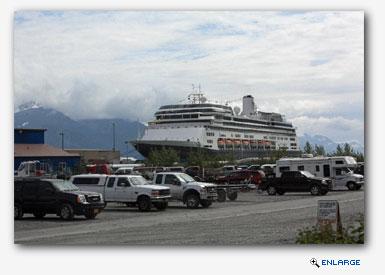 ms Zaandam, Seward, Alaska