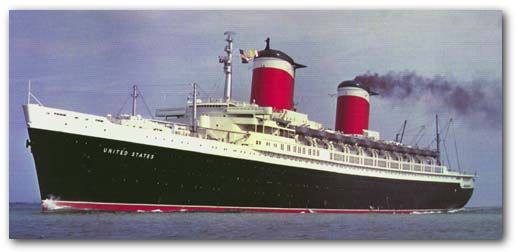 Classic Liners And Cruise Ships SS United States - Us flagged cruise ships